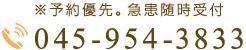 045-954-3833